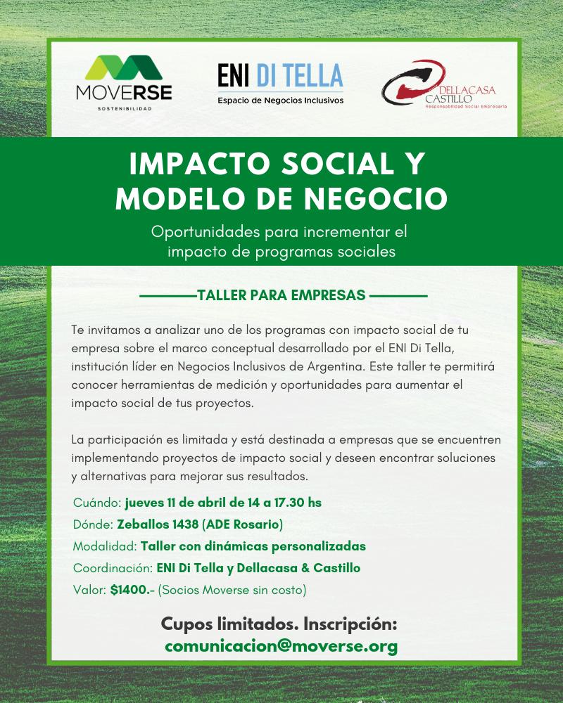 Taller Impacto Social Moverse UTDT Rosario